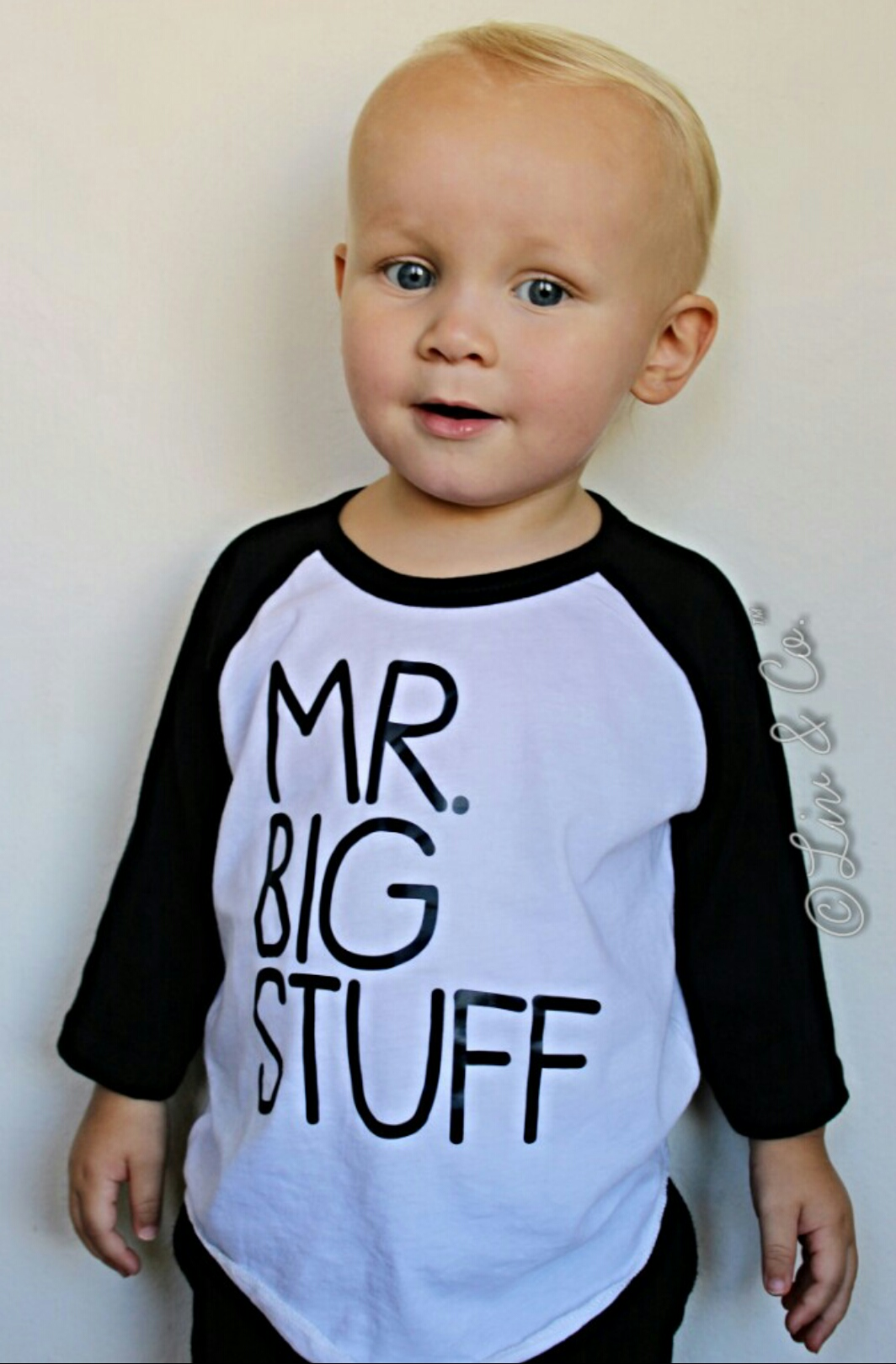Mr Big Stuff Baby And Toddler Boy Tshirt Clothes