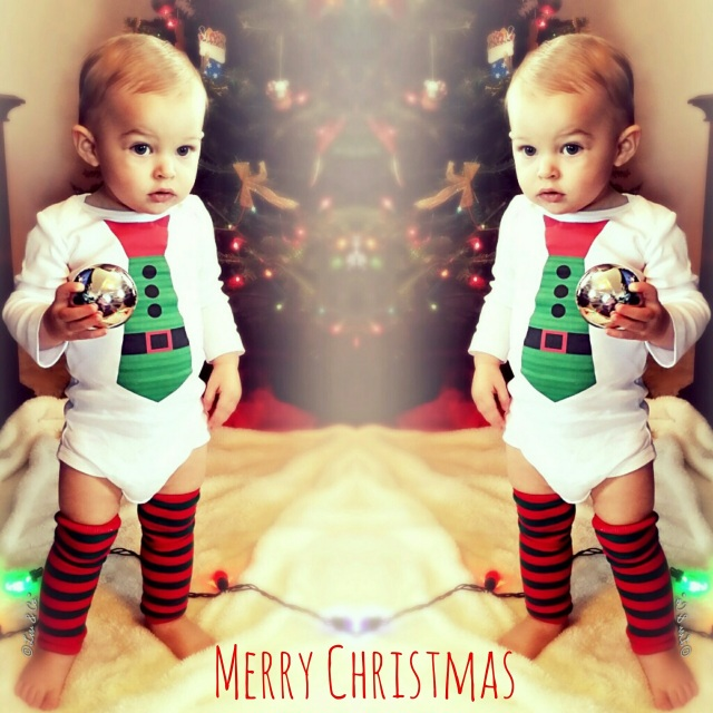 cfddb29976 Santa Belt Christmas Tie Bodysuit and Shirt for Baby and Toddler Boys - By  Liv & Co.™