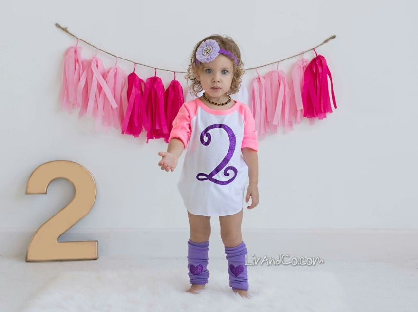 Girl 2nd Birthday Outfit Set