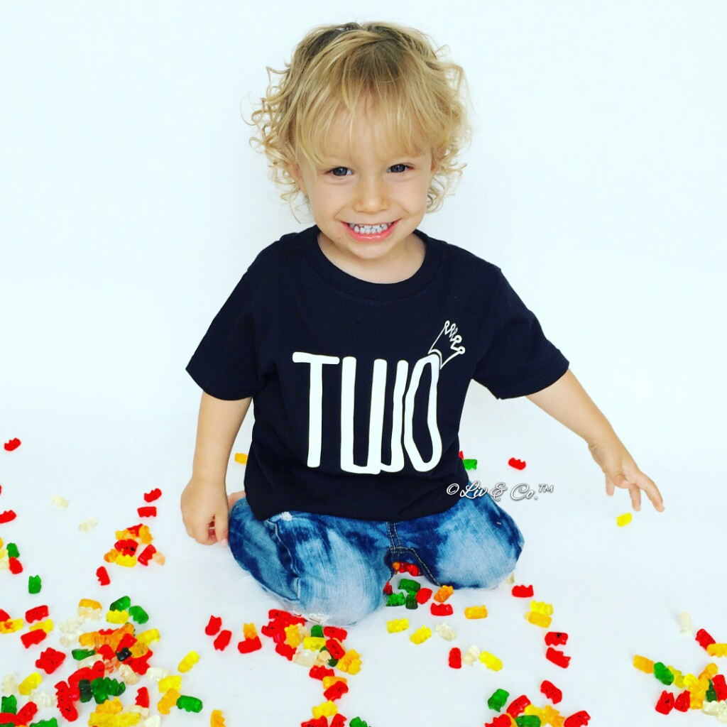 Has Turning Two Years Old Ever Looked So Cute I Dont Think There Really Isnt A Better 2nd Birthday Shirt To Celebrate Your Little Guy