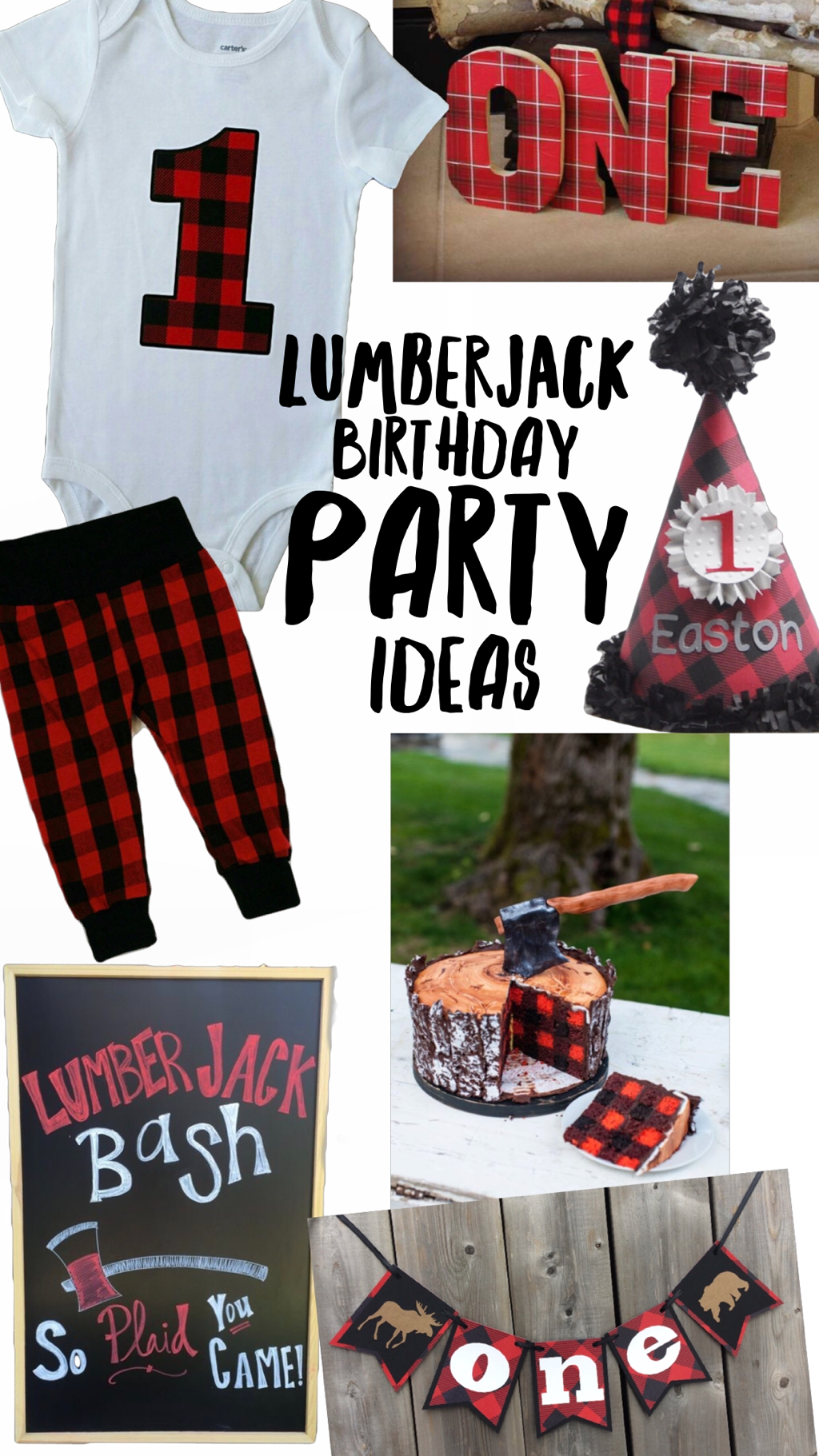 Lumberjack Birthday Party Theme Liv Amp Co Trendy Newborn