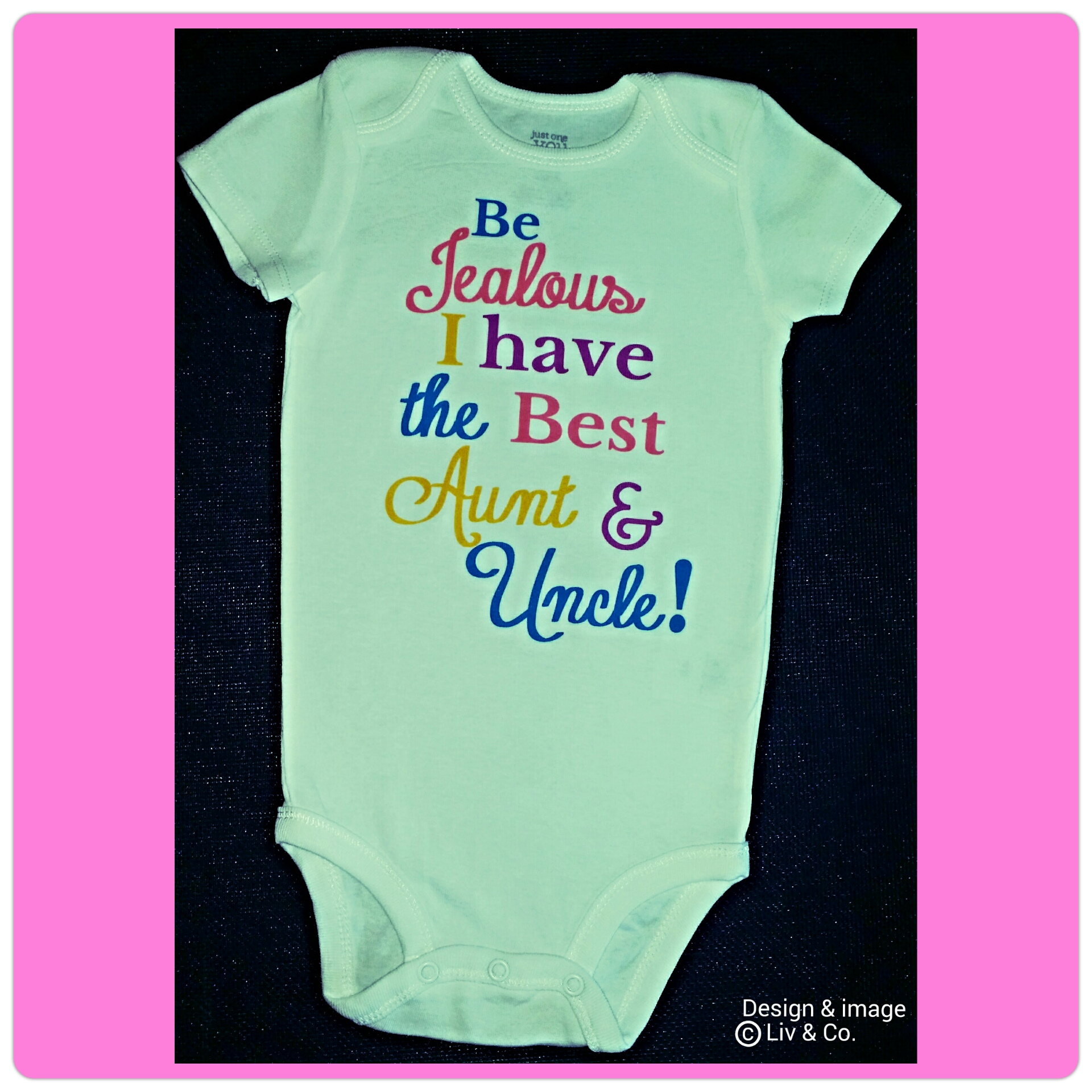Baby Girl Clothes Love My Aunt and Uncle Best Aunt and Uncle Ever
