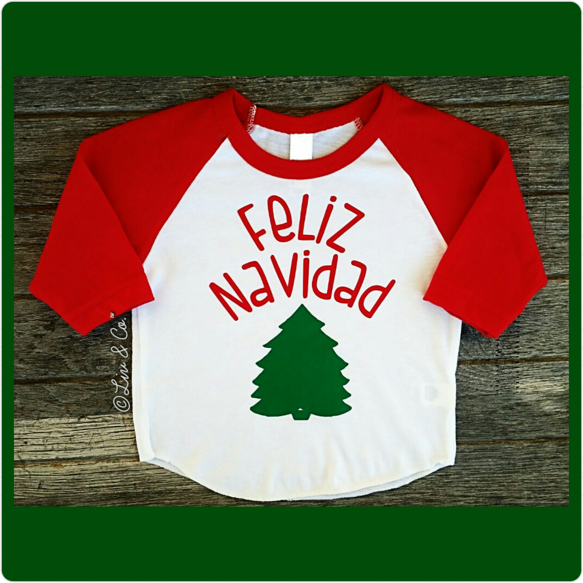 5e441d2aef36 Feliz Navidad / Merry Christmas Baby, Toddler, Youth and Adult ...
