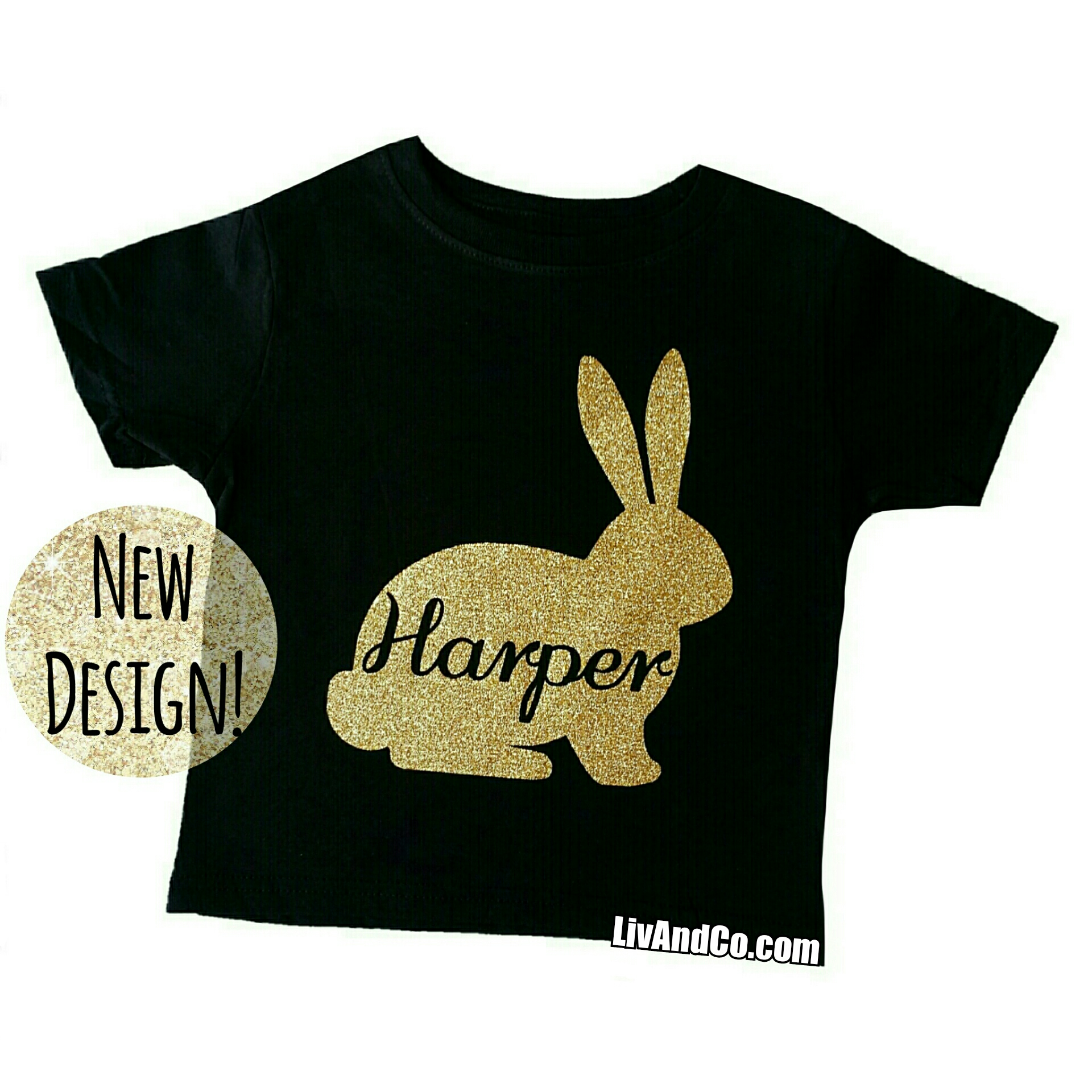 Personalized Baby Girl Easter Outfit