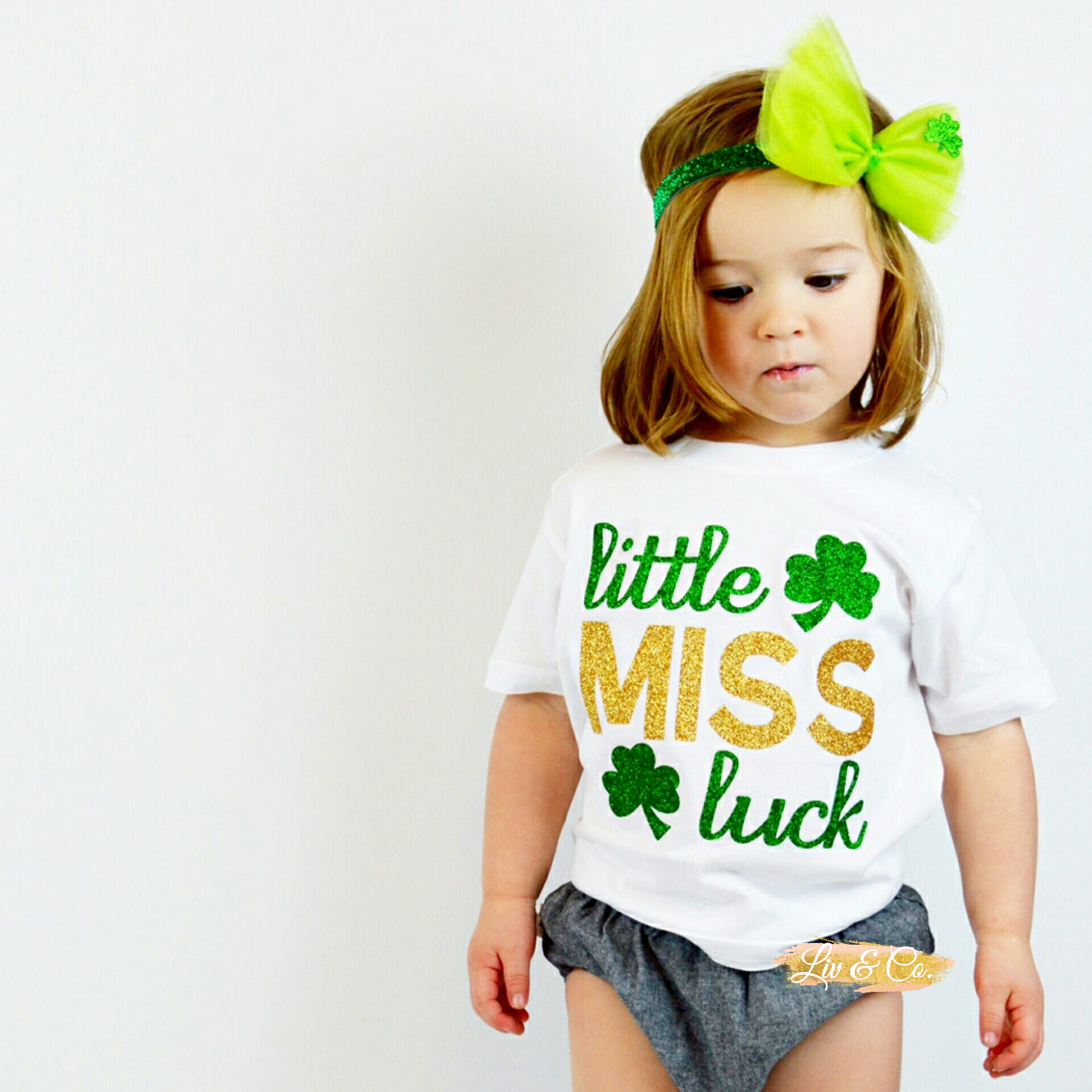 St Patrick s Day Girl Shirts Girl St Patricks Day Outfit