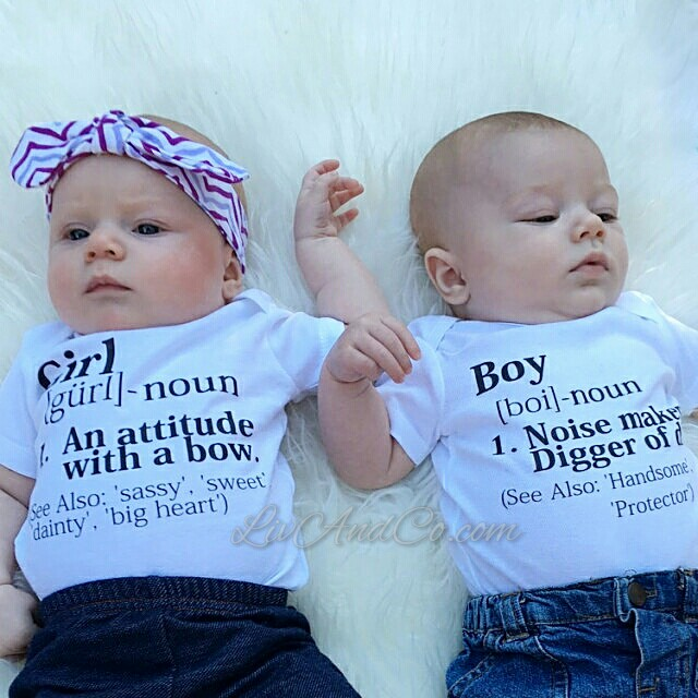 Twin Baby Clothes - Twin Baby Gifts