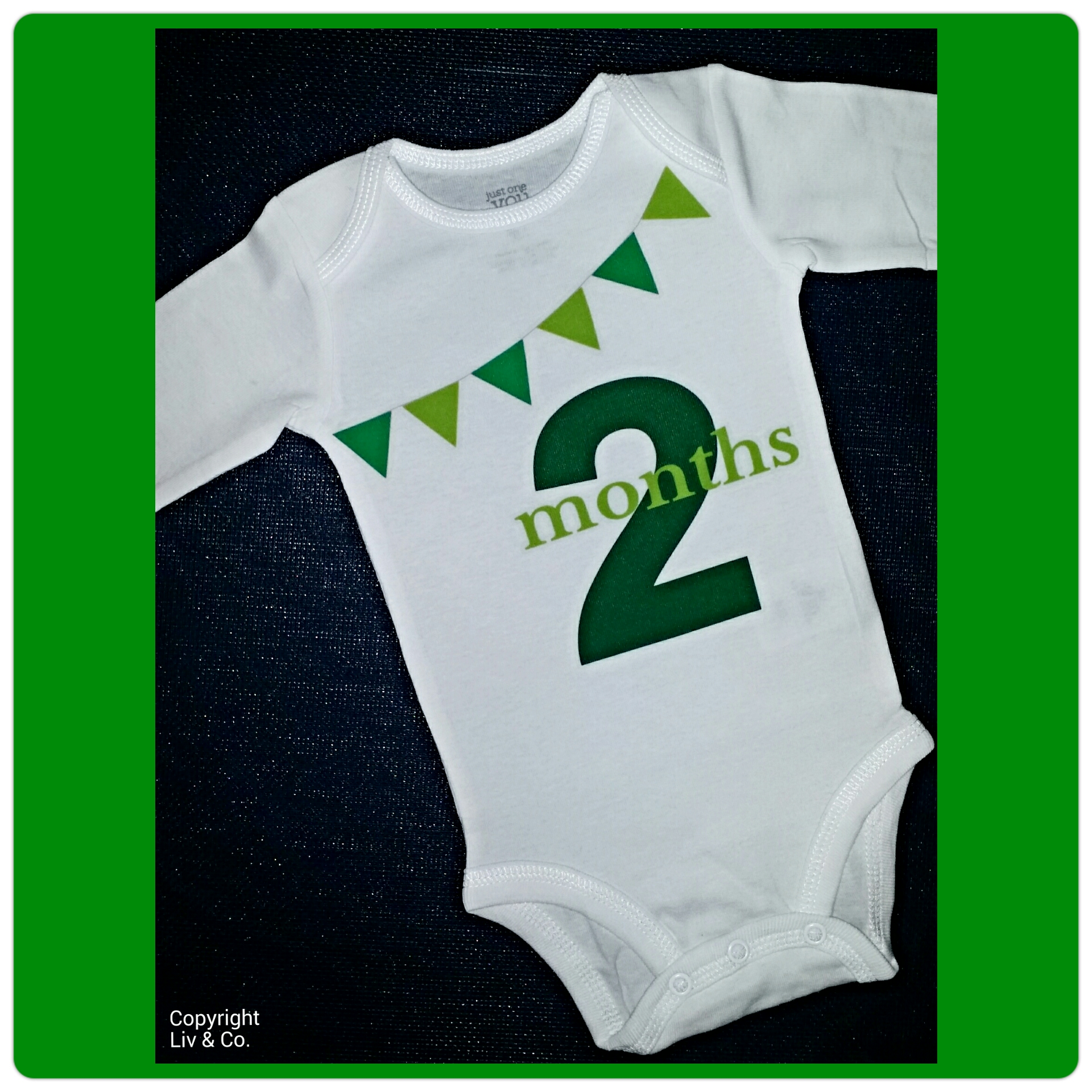 4265b7c29 One Month Baby Photo Outfit - Baby Clothes