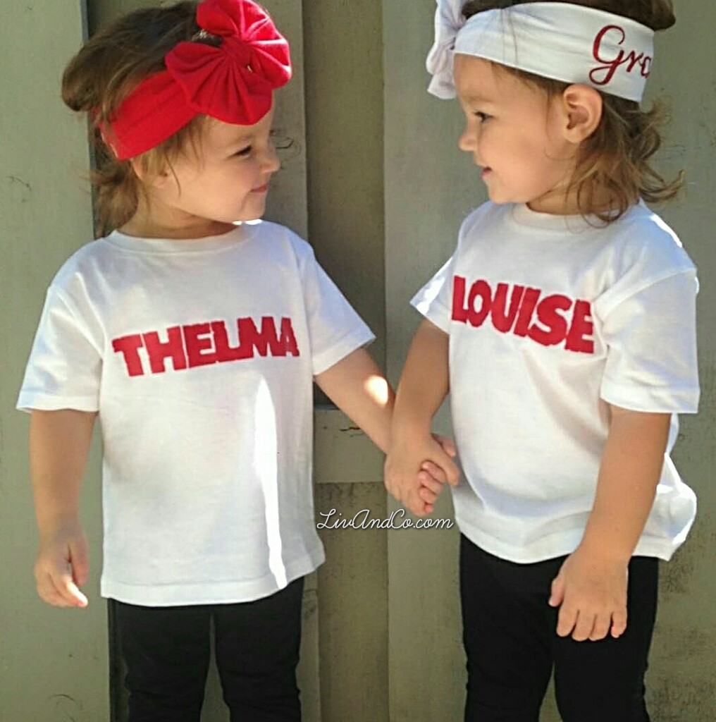 Twins Baby Clothes Sibling Shirts Girl Clothes